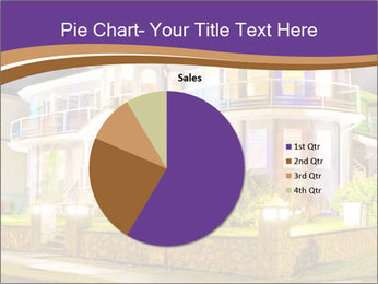 Glass Cottage PowerPoint Template - Slide 36
