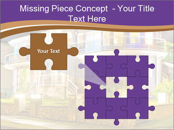 Glass Cottage PowerPoint Template - Slide 45