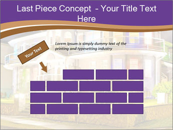 Glass Cottage PowerPoint Template - Slide 46