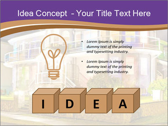 Glass Cottage PowerPoint Template - Slide 80