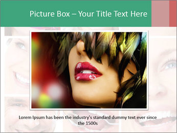 Smiles With White Teeth PowerPoint Template - Slide 16