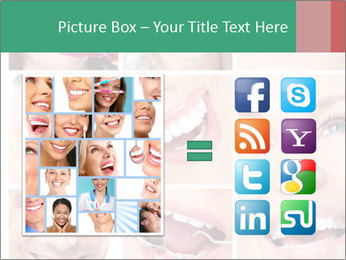 Smiles With White Teeth PowerPoint Template - Slide 21