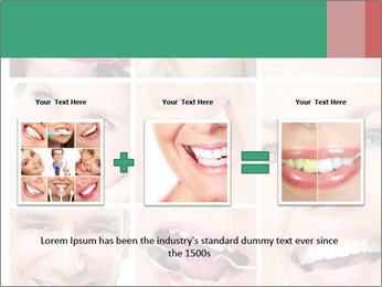 Smiles With White Teeth PowerPoint Template - Slide 22
