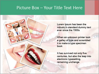 Smiles With White Teeth PowerPoint Template - Slide 23