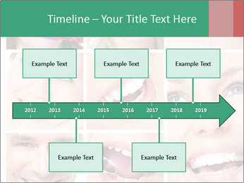 Smiles With White Teeth PowerPoint Template - Slide 28