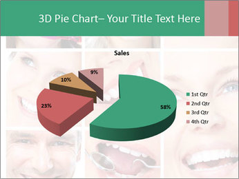 Smiles With White Teeth PowerPoint Template - Slide 35