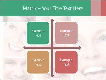 Smiles With White Teeth PowerPoint Template - Slide 37
