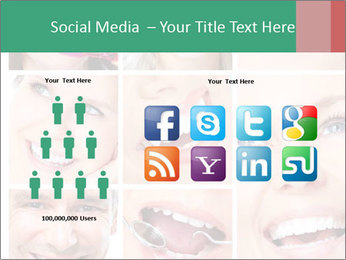 Smiles With White Teeth PowerPoint Template - Slide 5