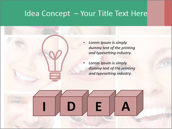 Smiles With White Teeth PowerPoint Template - Slide 80