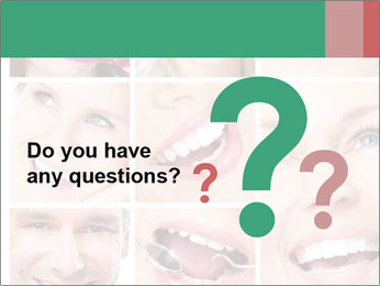 Smiles With White Teeth PowerPoint Template - Slide 96