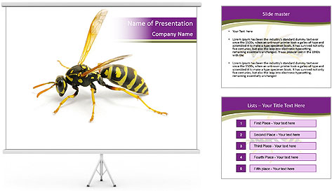Wild Bee PowerPoint Template