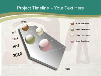 Egypt Wall Drawing PowerPoint Template - Slide 26