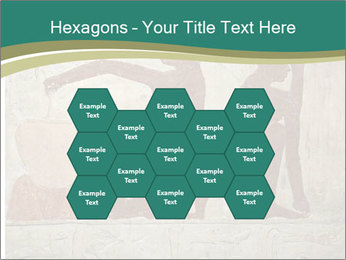 Egypt Wall Drawing PowerPoint Template - Slide 44