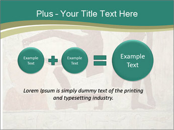 Egypt Wall Drawing PowerPoint Template - Slide 75
