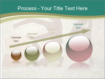 Egypt Wall Drawing PowerPoint Template - Slide 87