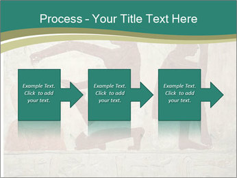 Egypt Wall Drawing PowerPoint Template - Slide 88