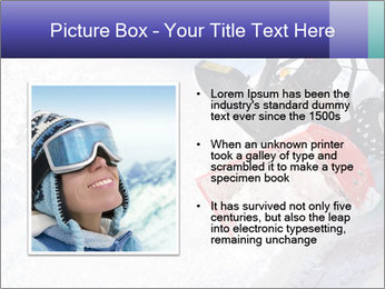 Snow Blowing Machine PowerPoint Template - Slide 13