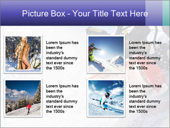 Snow Blowing Machine PowerPoint Template - Slide 14
