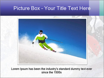Snow Blowing Machine PowerPoint Template - Slide 15