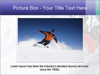 Snow Blowing Machine PowerPoint Template - Slide 16