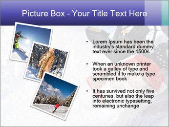 Snow Blowing Machine PowerPoint Template - Slide 17