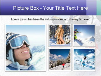 Snow Blowing Machine PowerPoint Template - Slide 19