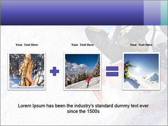Snow Blowing Machine PowerPoint Template - Slide 22
