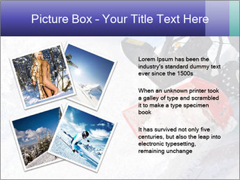 Snow Blowing Machine PowerPoint Template - Slide 23