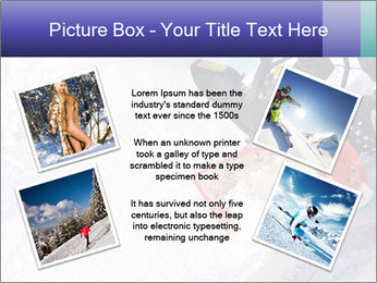 Snow Blowing Machine PowerPoint Template - Slide 24