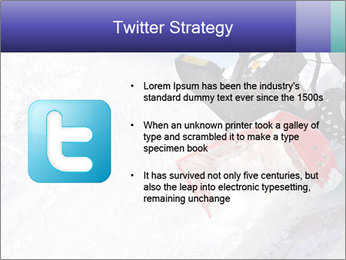 Snow Blowing Machine PowerPoint Template - Slide 9