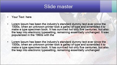 Snow Blowing Machine PowerPoint Template - Slide 2
