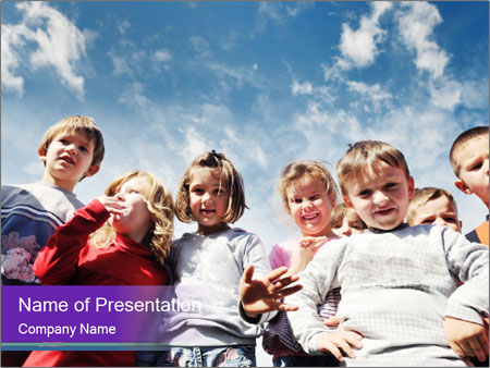 Kids Outdoors PowerPoint Templates
