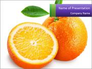 Orange Slice PowerPoint Templates