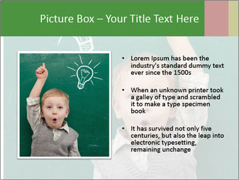 Schoolboy With Fresh Idea PowerPoint Template - Slide 13