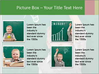 Schoolboy With Fresh Idea PowerPoint Template - Slide 14