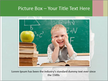 Schoolboy With Fresh Idea PowerPoint Template - Slide 15
