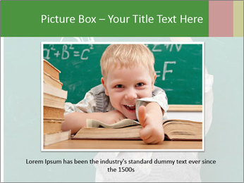 Schoolboy With Fresh Idea PowerPoint Template - Slide 16