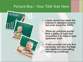 Schoolboy With Fresh Idea PowerPoint Template - Slide 17