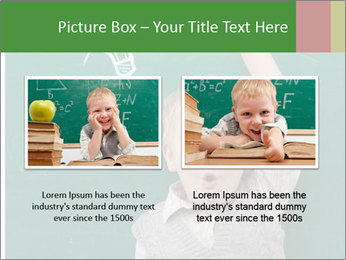 Schoolboy With Fresh Idea PowerPoint Template - Slide 18