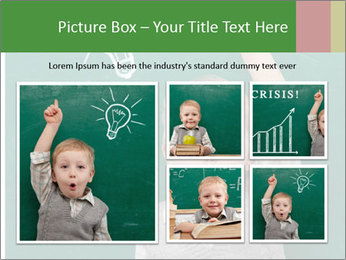 Schoolboy With Fresh Idea PowerPoint Template - Slide 19