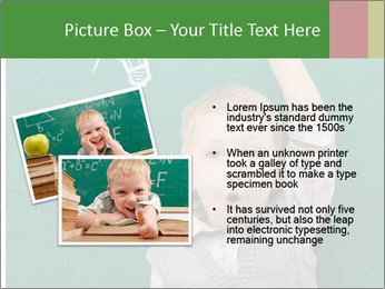 Schoolboy With Fresh Idea PowerPoint Template - Slide 20