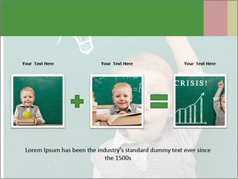 Schoolboy With Fresh Idea PowerPoint Template - Slide 22