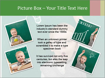 Schoolboy With Fresh Idea PowerPoint Template - Slide 24