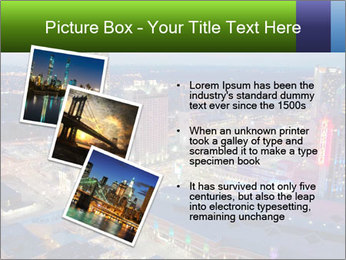 American City At Night PowerPoint Template - Slide 17