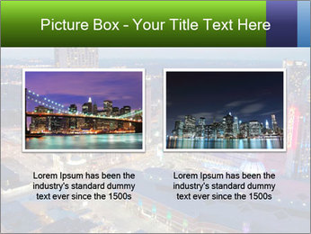 American City At Night PowerPoint Template - Slide 18
