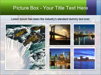 American City At Night PowerPoint Template - Slide 19