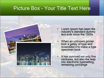 American City At Night PowerPoint Template - Slide 20