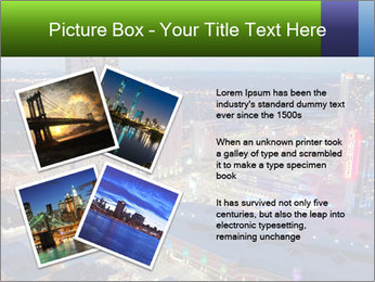 American City At Night PowerPoint Template - Slide 23