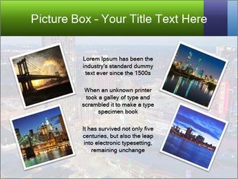 American City At Night PowerPoint Template - Slide 24
