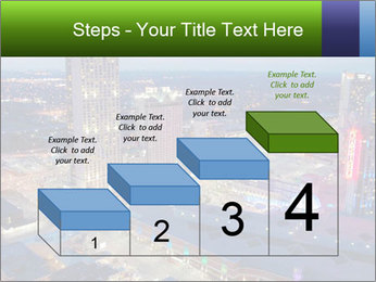 American City At Night PowerPoint Template - Slide 64